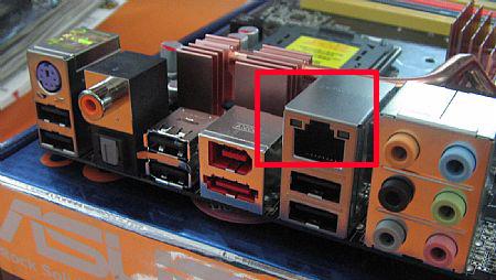 主板上的集成网卡芯片拆下来,主板还可以用吗