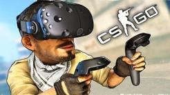 VR CS:GO 是搞笑游戏吧?老外都疯了!【虚拟现实射击游戏】