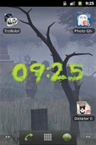 电子时钟主题壁纸 来自