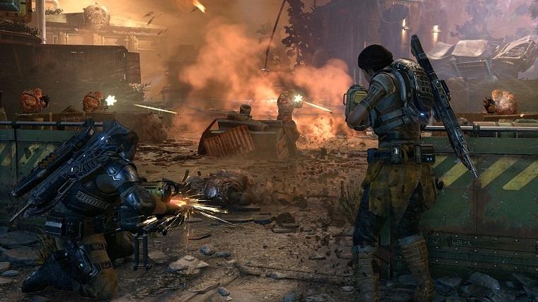《战争机器4》游戏画面
