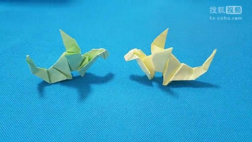 折纸王子教你折纸恐龙 儿童折纸大全