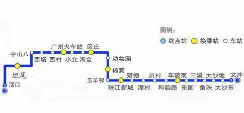 广州地铁5号线路图图片
