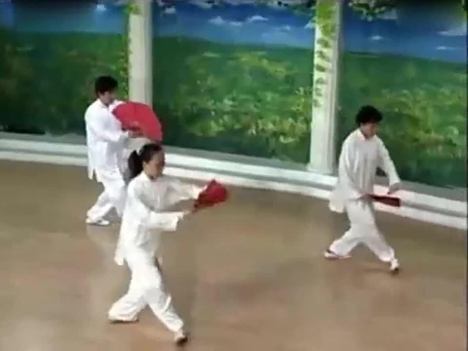 cc v4《体验真 功夫 》第三集 杨氏太极拳(没有公开播 ...
