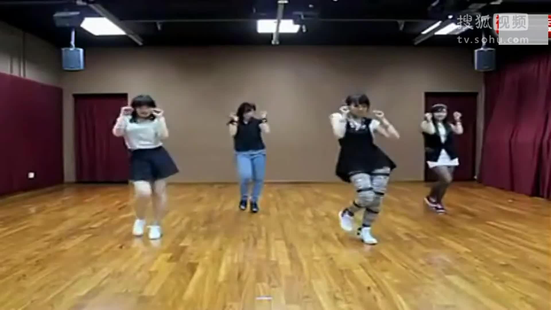 现代舞蹈教学视频 最简单的现代舞