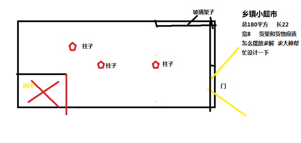 超市电路布置图