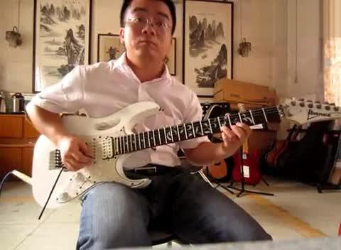电吉他独奏《 海阔天空》