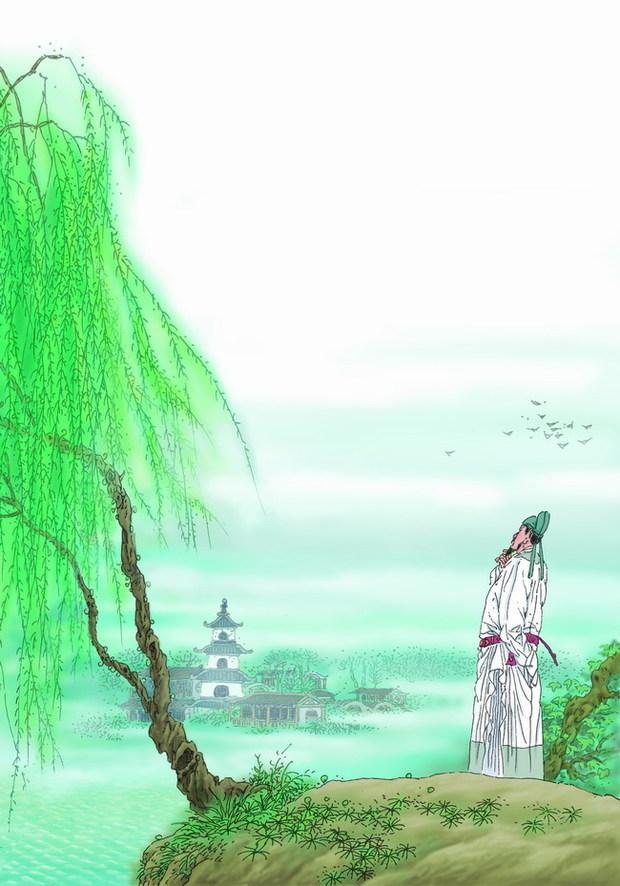 描写春天的古诗加图片