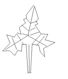 秋天的枫树林用铅笔画简单画怎么画