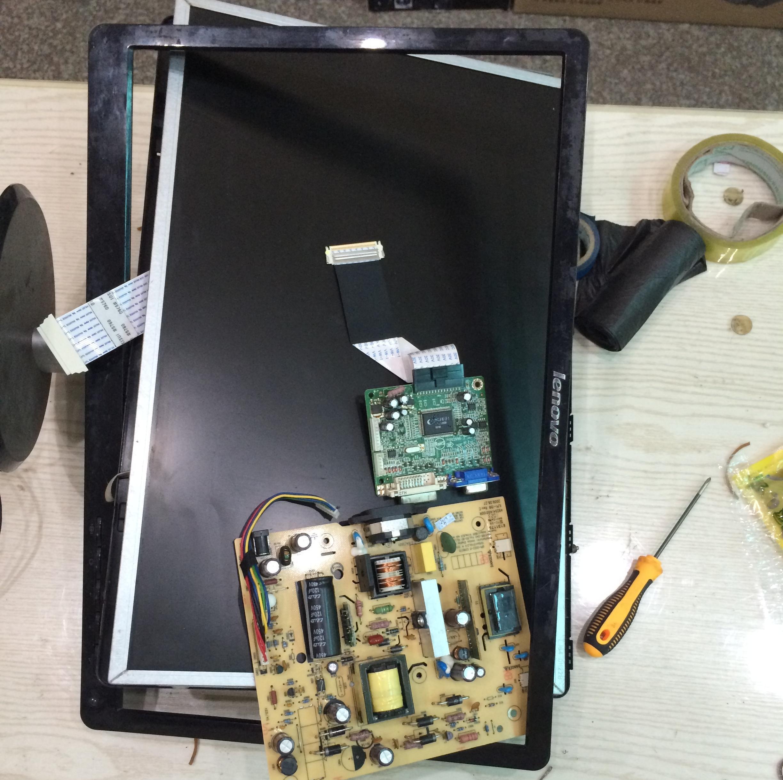 联想显示器方屏主板接线图
