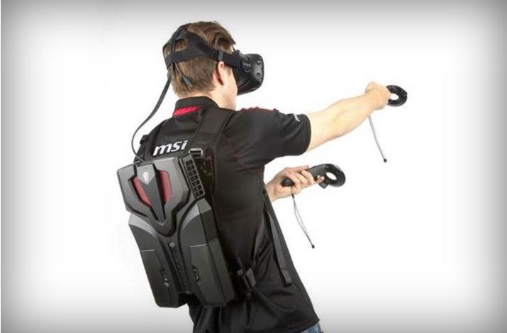 微星再推VR背包电脑VR One