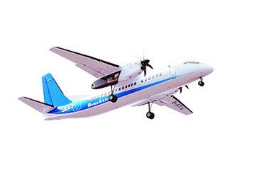 飞机工业公司研制的国产运七200a型客机