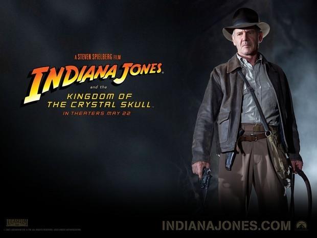 哈里森·福特再次主演考古学家印地安纳·琼斯博士.