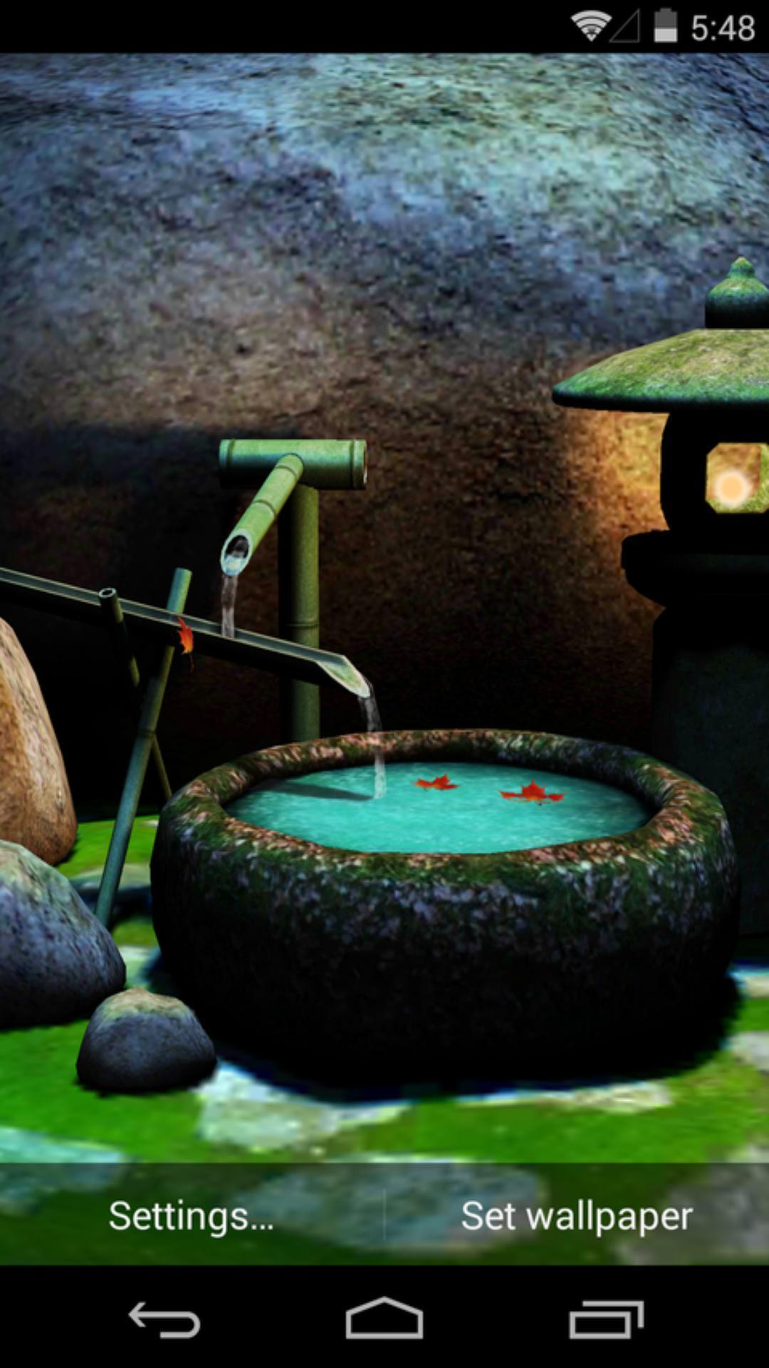 《 3D庭院深深=梦象动态壁纸 》截图欣赏