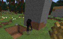 【Minecraft】当末影人可以一次举起200个方块时。。。