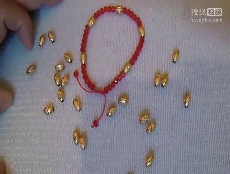 手工编织黄金转运珠戒指的方法和教程视频1