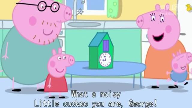 粉红猪小妹英文 小猪佩奇 原版英文字幕 第二季 15_标