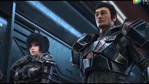 《雄兵连》乾坤篇:长城一号 的斧子能砍碎星球,结果掉了.