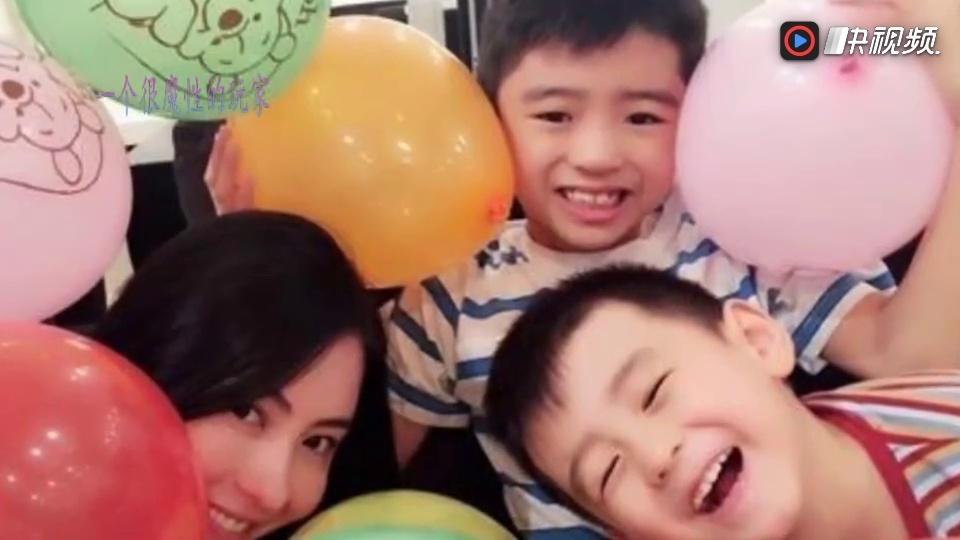 张柏芝让两个儿子录视频祝福锋菲?网友:该不是疯了吧!'/