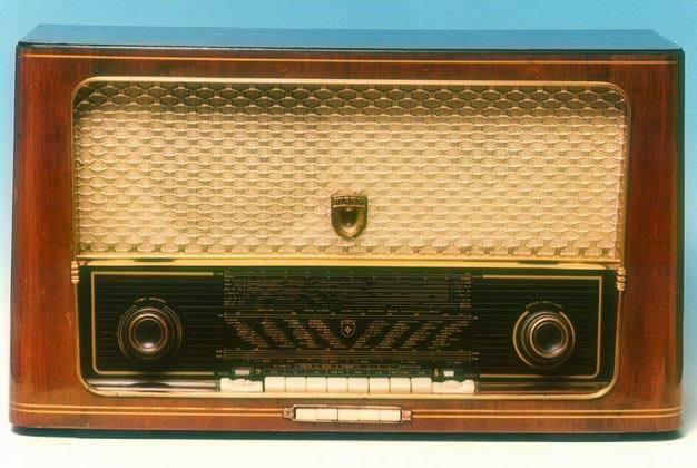 自动选台中,短波收音机