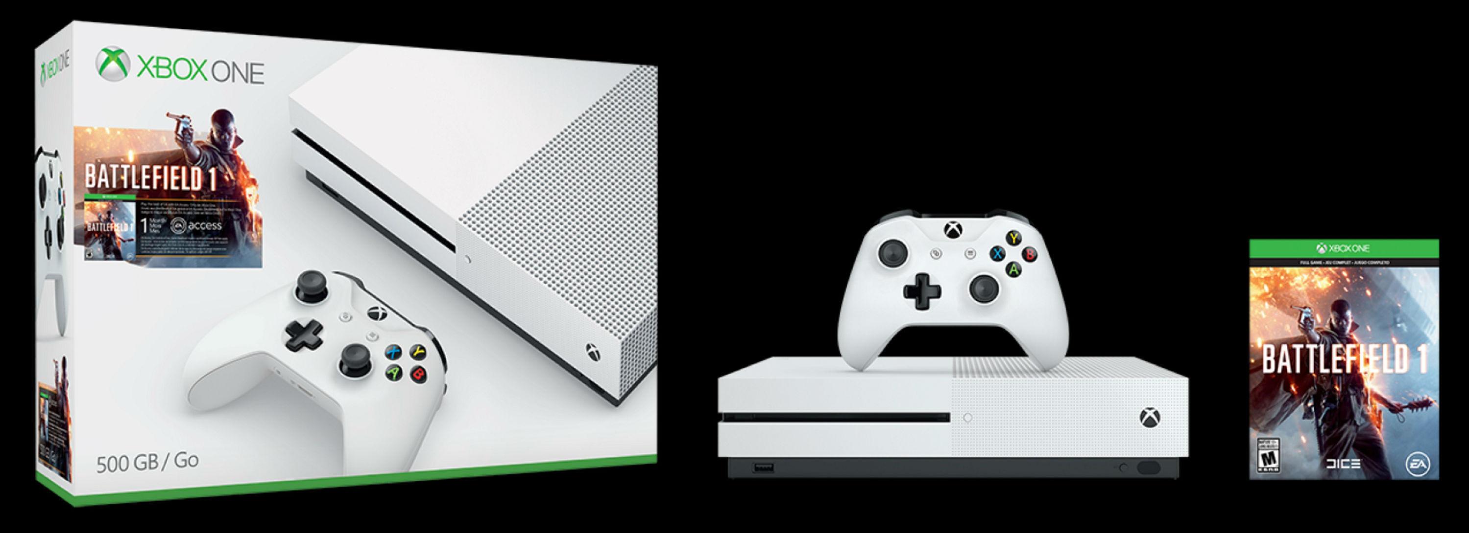 Xbox One S主机新配色