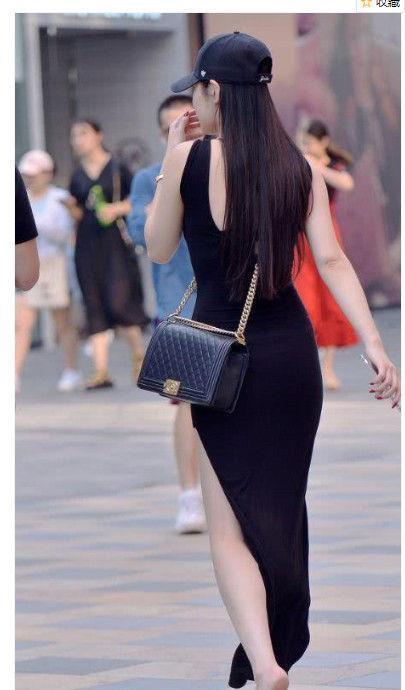 路人街拍:清澈甜美的美女,展现女人唯美气质!