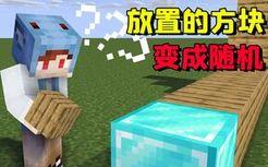 MC中玩家放下的方块会随机变化,仅靠300个木头就能获得钻石!