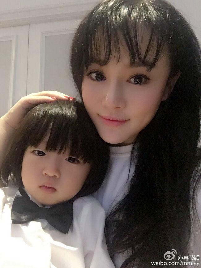 美丽的妻子,可爱的孩子