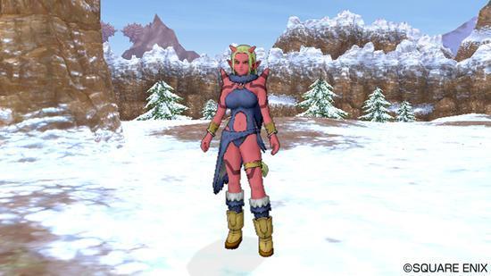 巨人族女性角色形象