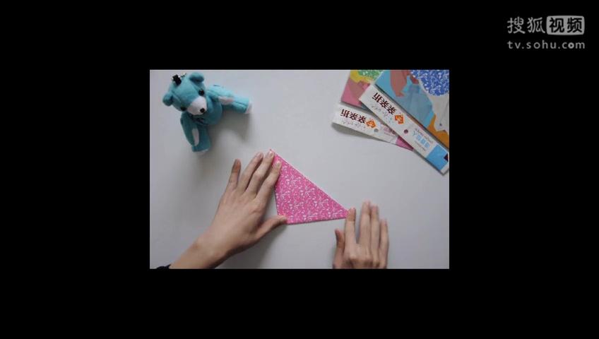 千纸鹤爱心 千纸鹤的折法图解 手工动物折纸大全 千纸鹤的折法 轻松折