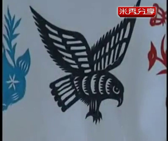儿童剪纸中国剪纸艺术入门视频教程 儿童剪纸