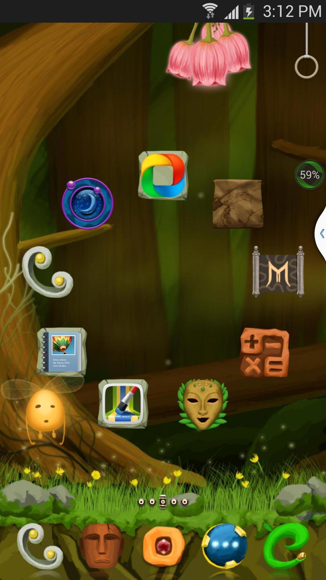 360桌面动态主题-森林精灵