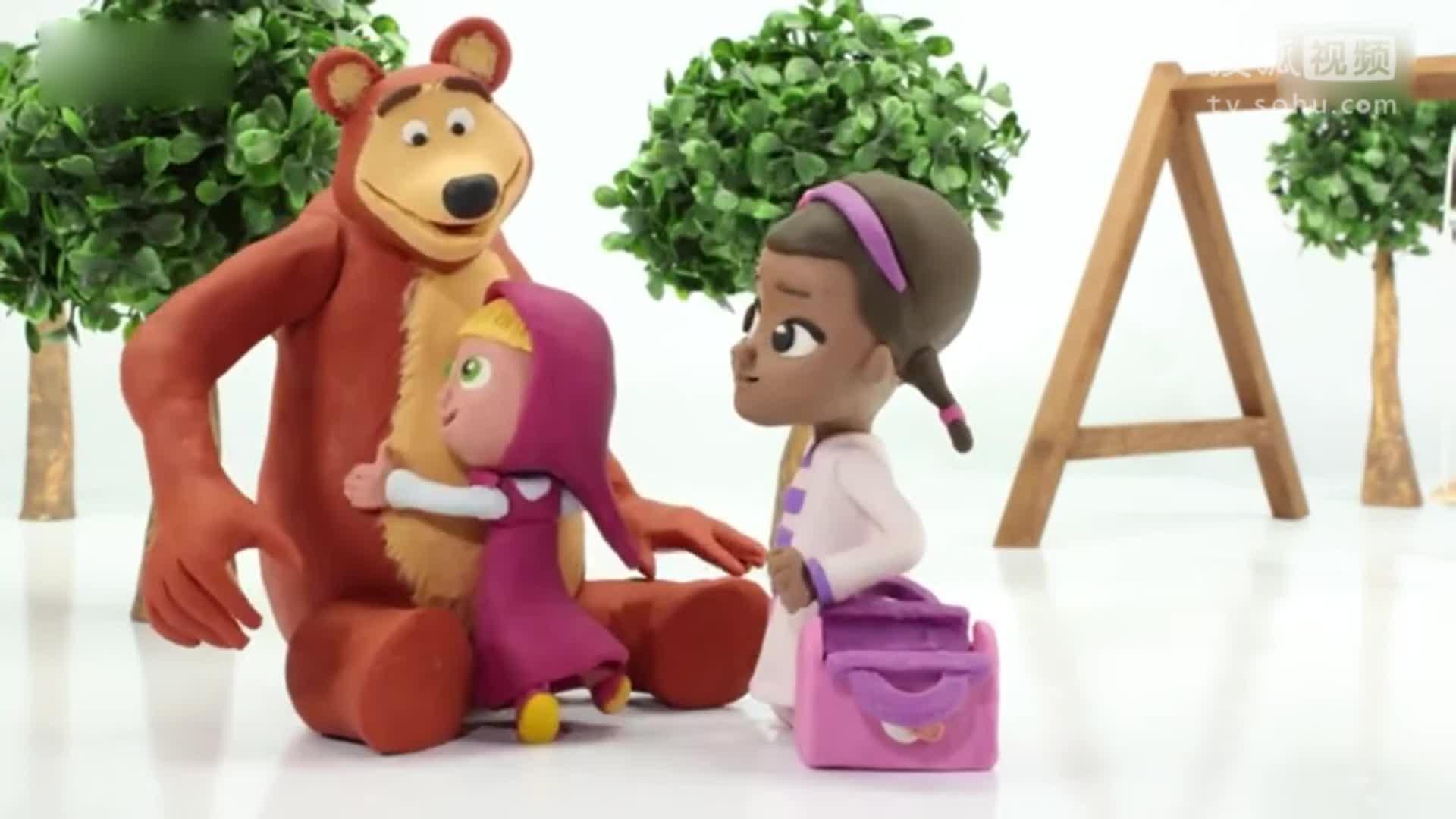 小猪佩奇 面包超人 白雪公主 定格动画 彩泥diy[玩具 视频 亲子