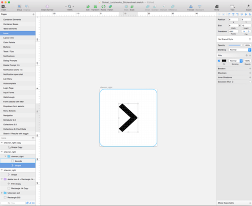 Removing the bounding box in Sketch