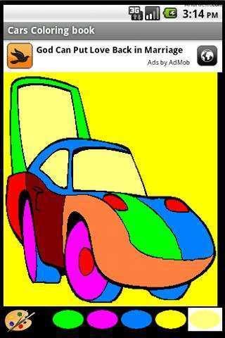 《 车的彩色书 》截图欣赏