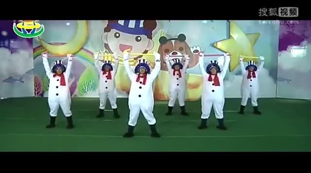 儿童舞蹈教学视频大全《圣诞精灵》林老师幼儿舞蹈视频