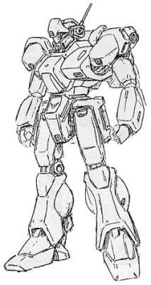 RGM-91S装甲强化型杰刚
