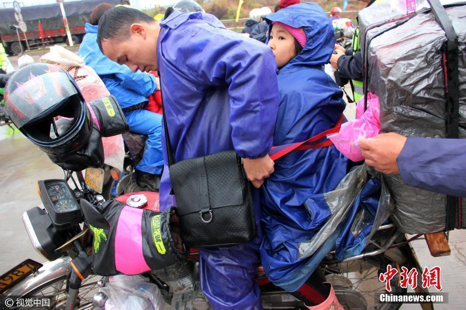 【转】北京时间     铁骑大军启程 爸爸把孩子绑身上骑百里路 - 妙康居士 - 妙康居士~晴樵雪读的博客