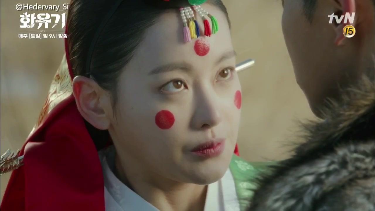 《花游记》悟空这个吻有毒啊,这估计是韩剧里最痛苦的吻了