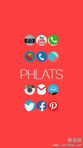 《 Phlats Icon Pack 》截图欣赏