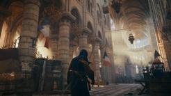 在刺客信条大革命中浏览巴黎圣母院
