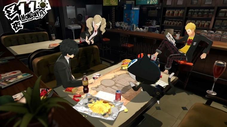 《女神异闻录5》游戏画面