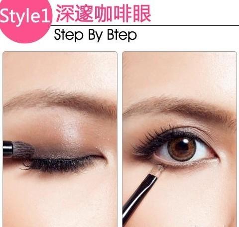 化妆步骤图解教程!