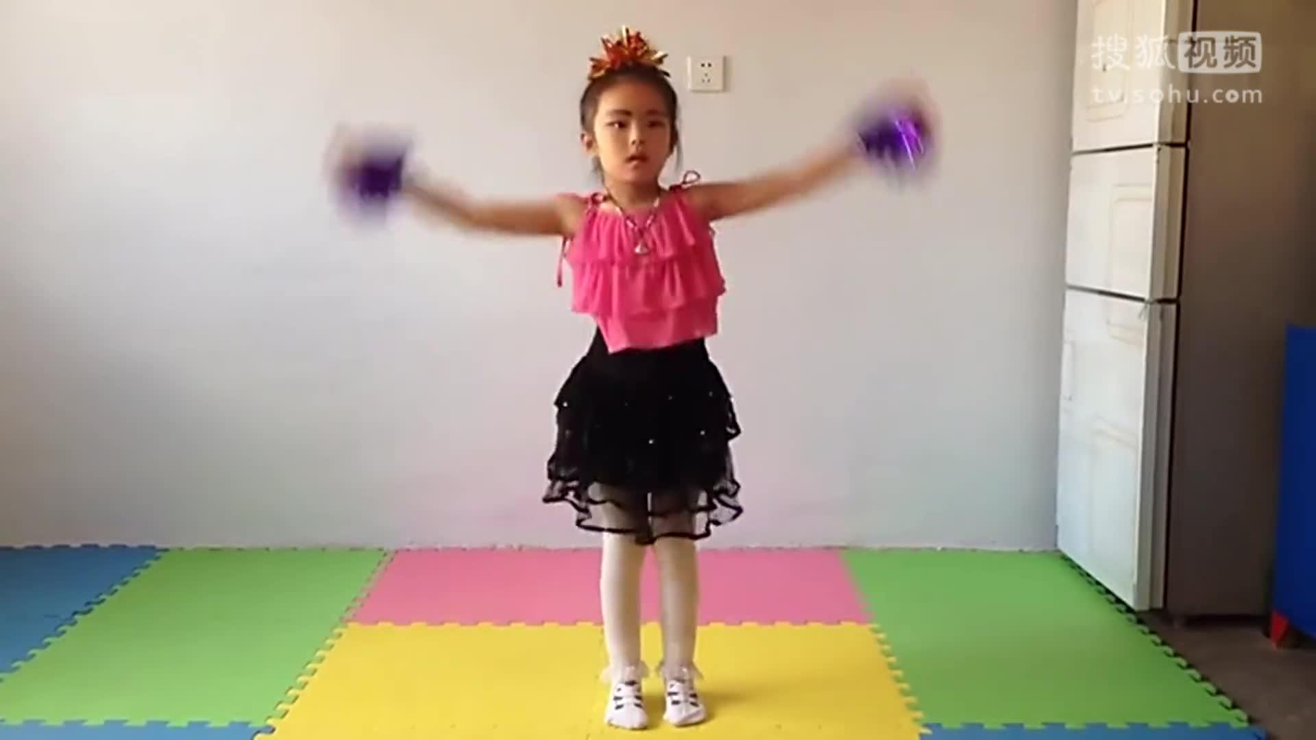 儿童单人舞蹈视频大全 幼儿园女生独舞 小苹果