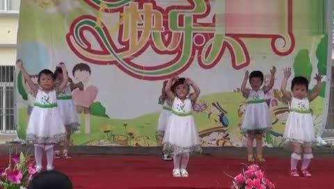 金摇篮幼儿园六一幼儿舞蹈《爱我你就抱抱我》在线播放网,视频.