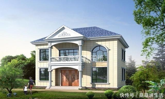 <b>良心推荐!二层占地面积140平方米的经济型房屋,好看又实用</b>