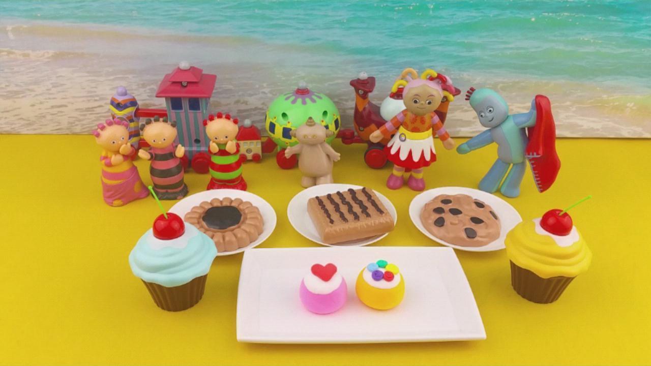 花园宝宝超轻粘土diy蛋糕美食 趣味手工制作食玩玩具游戏-花园宝宝.