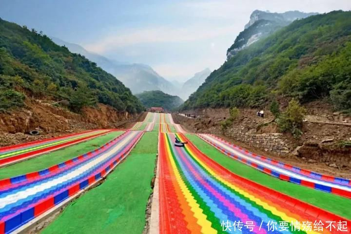 华北地区之蹦极——云丘山 国家风景自然保护区