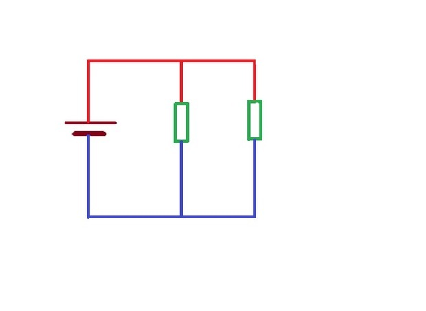 并联电路中一个支路电阻增大