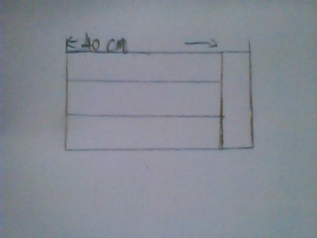 用4相同的小正方形木块拼成一个大长方形