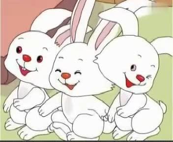 如何折纸小白兔?